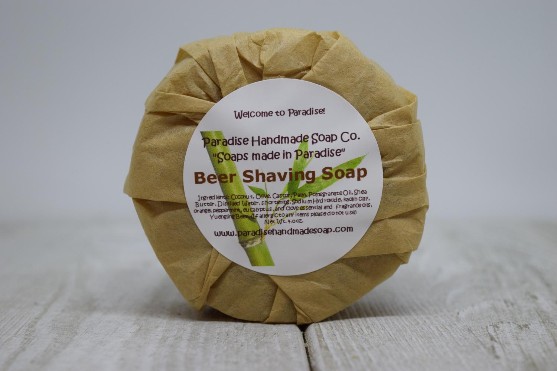 Beer Shaving Soap