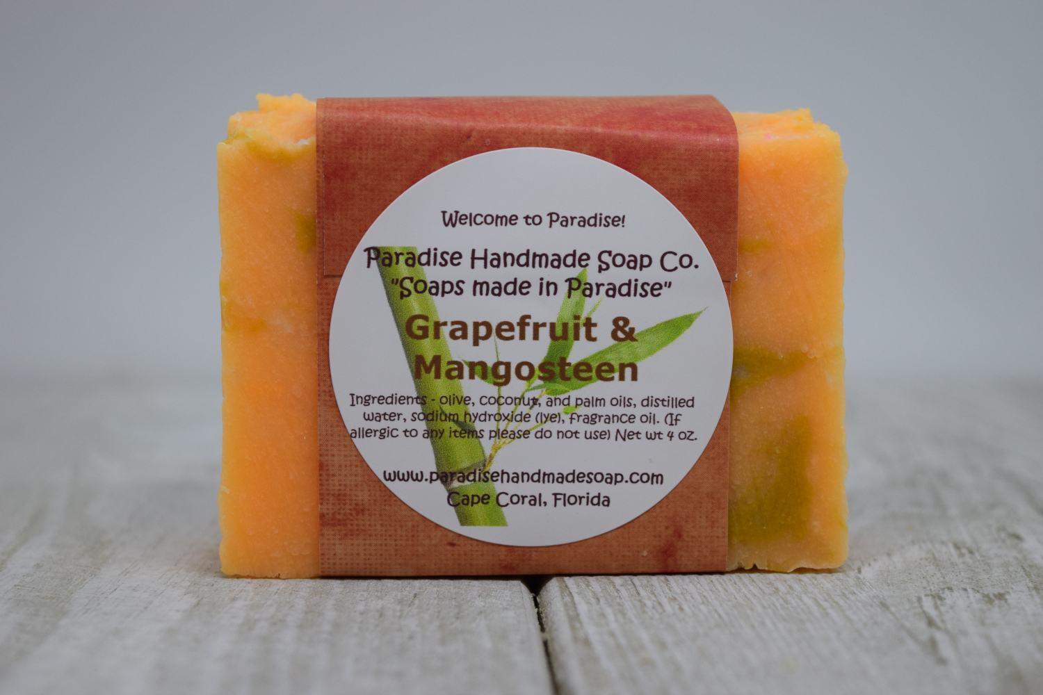 Grapefruit & Mangosteen Soap