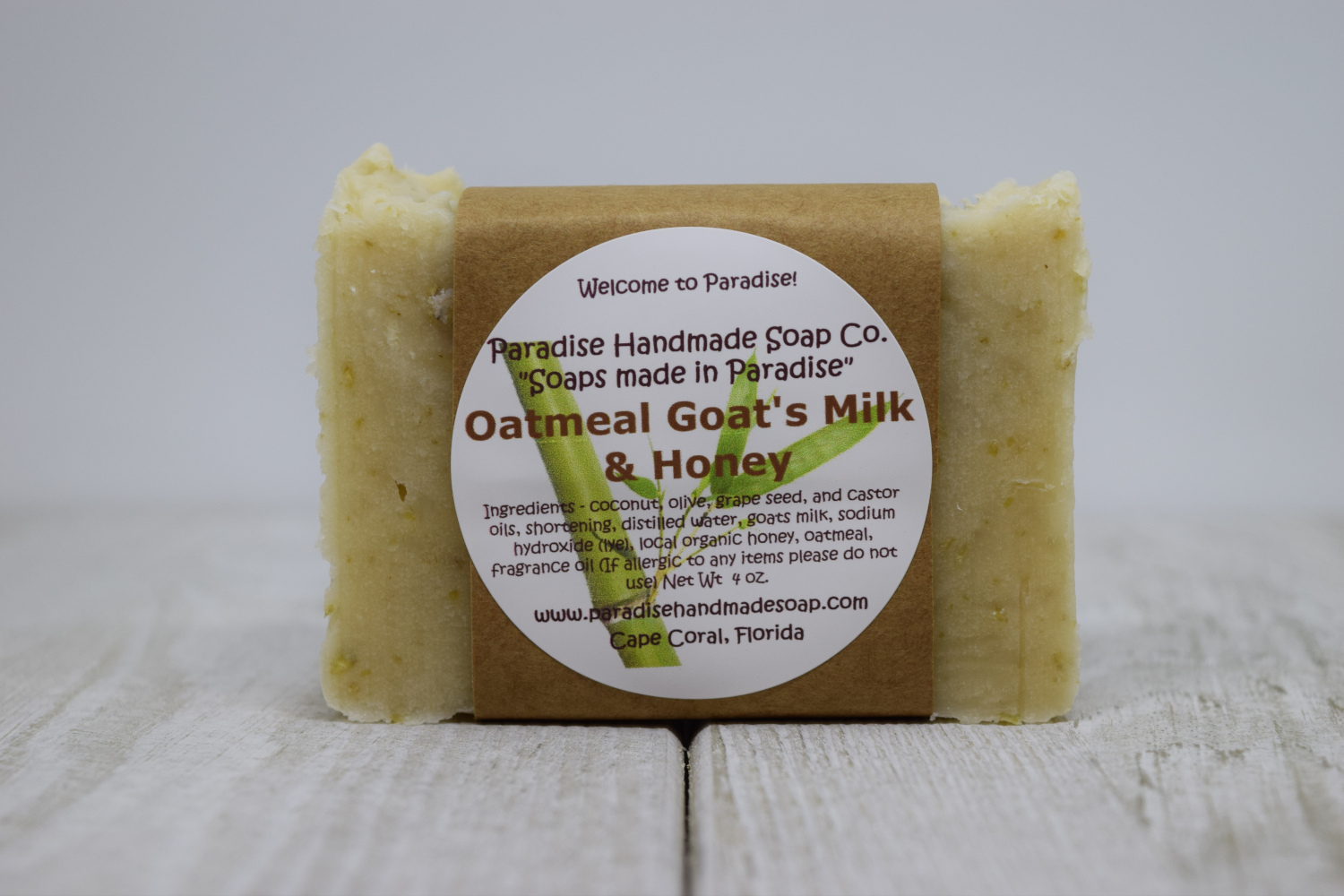 Oatmeal Goat's Milk & Honey Soap