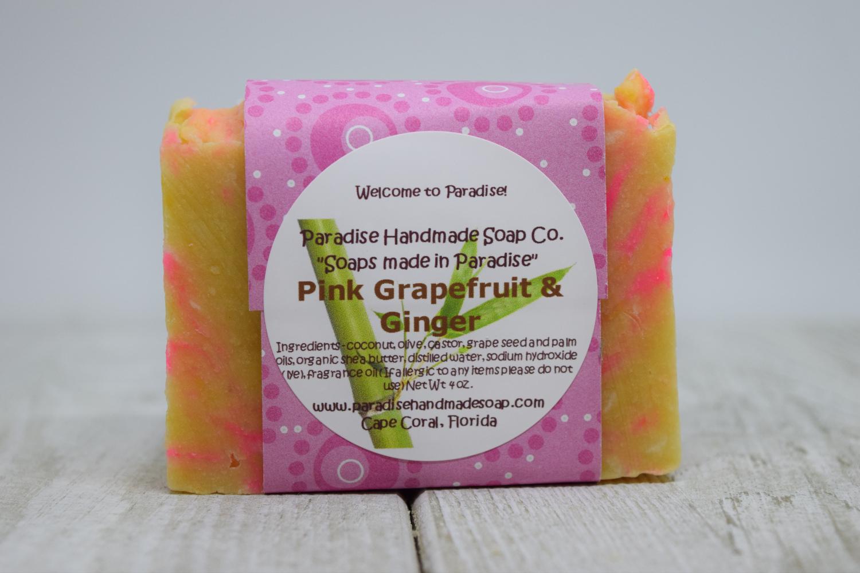 Pink Grapefruit & Ginger Soap