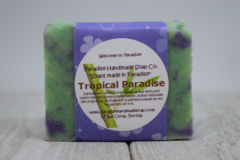 Tropical Paradise Soap