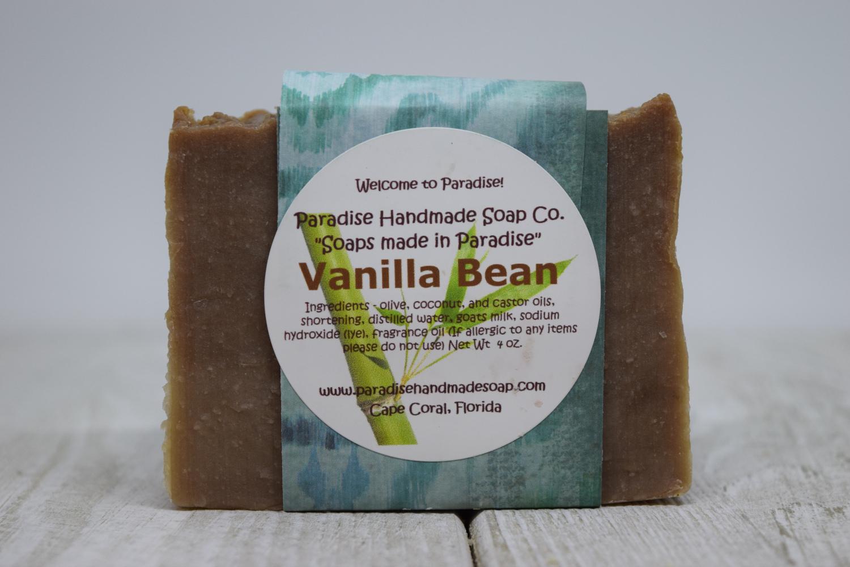 Vanilla Bean Goat's Milk Soap