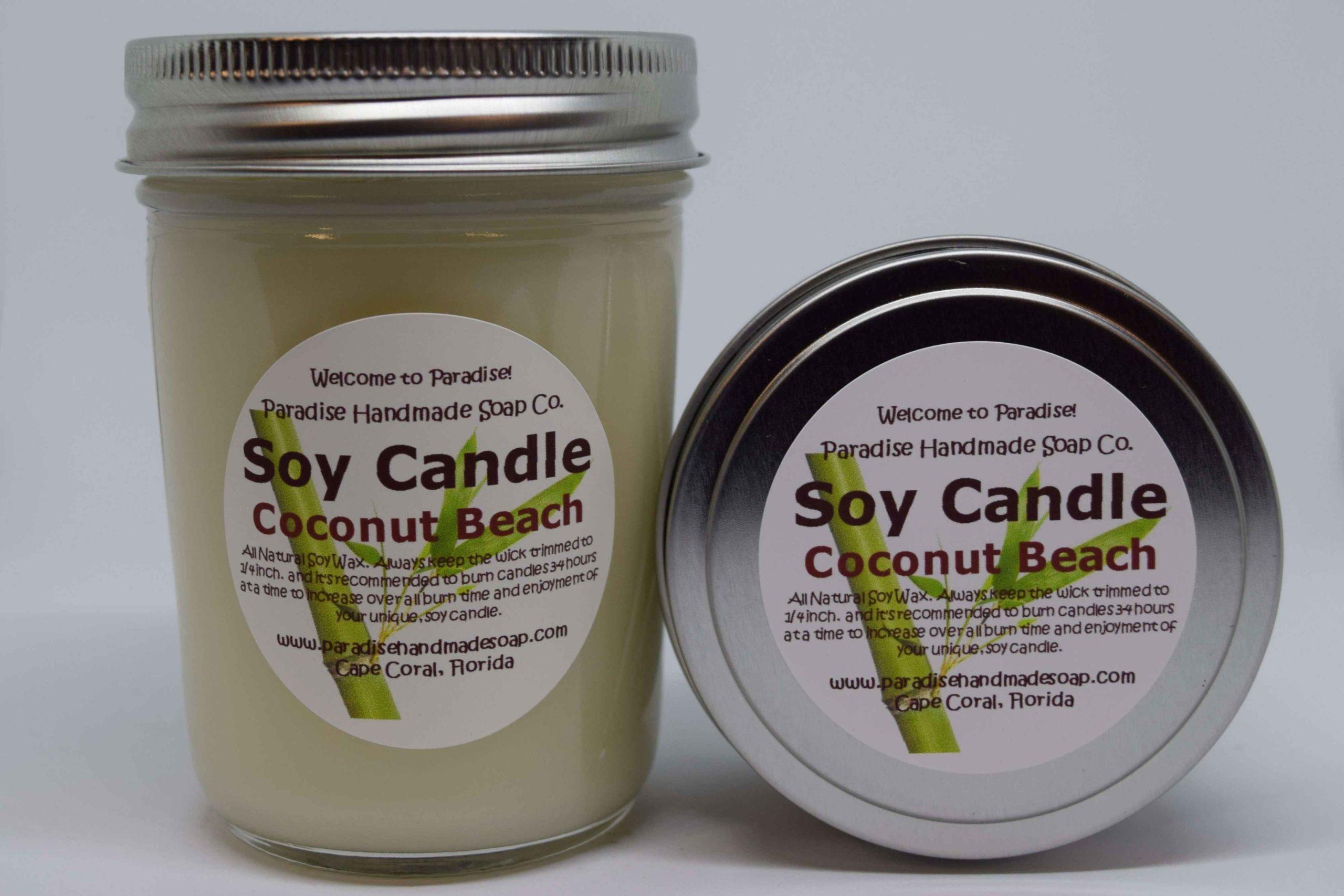 Coconut Beach Candle