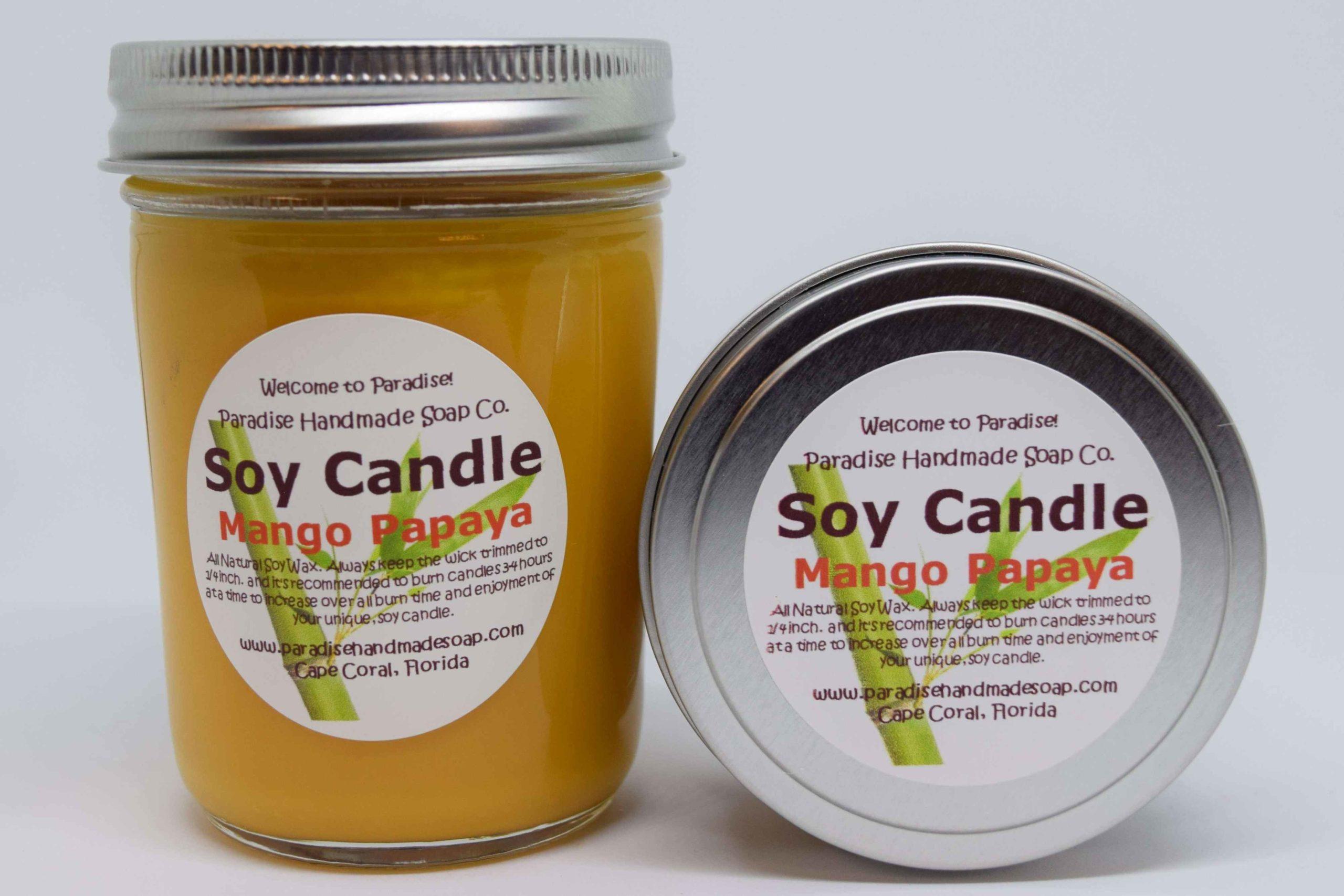 Mango Papaya Candle